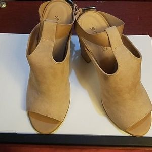 Suede Heels by Juliette Size 10 US